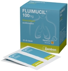 Fluimucil Junior 100mg granulátum