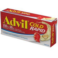 Advil Cold Rapid 200mg/30mg Lágy Kapszula