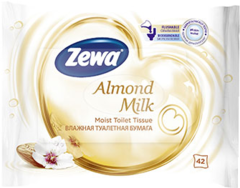 Zewa Pure Nedves WC Papír Almond Milk