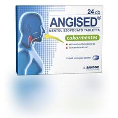 Angised  Mentol Szopogató Tabletta