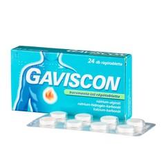 Gaviscon borsmenta ízű rágótabletta