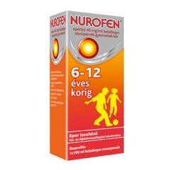 Nurofen eperízű 40 mg/ml belsőleges szuszpenzió gyermekeknek 6-12 éves korig