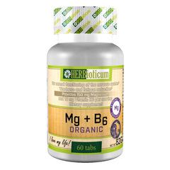 HERBioticum Szerves Mg + B6 Organic