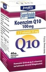 JutaVit Koenzim Q10 100mg + E-vitamin 35mg lágyzselatin kapszula