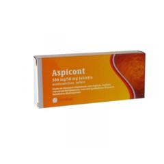 Aspicont 500mg/50mg Tabletta