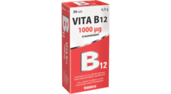 Vitabalans Vita B12 1000mcg Tabletta