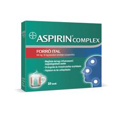 Aspirin Complex Forró Ital 500 mg/ 30 mg granulátum belsőleges szuszpenzióhoz