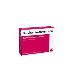 B12-Vitamin Ankermann 1000mcg bevont tabletta - Ingyenes szállítás