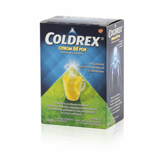 Coldrex citrom ízű por 10x