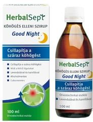Dr. Theiss HerbalSept Köhögés elleni szirup Good Night