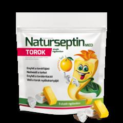 Naturseptin MED TOROK - olvadó rágóbonbon