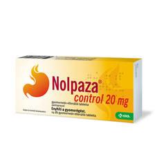 Nolpaza control 20mg gyomornedv-ellenálló tabletta