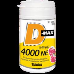 D-MAX 4000 NE rágótabletta