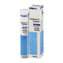 CALCIUM-D-SANDOZ 600 mg/400 NE pezsgőtabletta