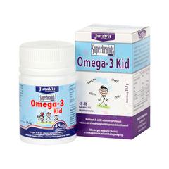 Jutavit Omega-3 Kid Narancs Ízű Rágókapszula