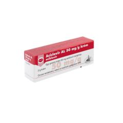 Aciclovir AL 50mg/g krém