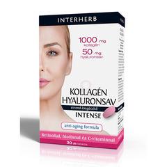 Interherb Kollagén&Hyaluronsav INTENSE tabletta