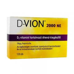 D-Vion D3 2000NE kapszula