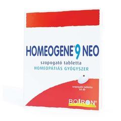 Homeogene 9 Neo szopogató tabletta