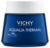 VICHY Aqualia Thermal Spa Éjszakai bőrfeltöltő krém-gél a fáradtság jelei ellen