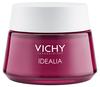VICHY Idealia Bőrkisimító és ragyogást adó, energizáló arckrém száraz arcbőrre
