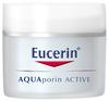 EUCERIN AQUAporin ACTIVE Hidratáló Nappali arckrém normál, vegyes bőrre