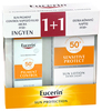 Eucerin Sun Sensitive Protect Extra könnyű naptej + Pigment Control Csomag