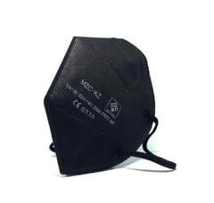Szájmaszk FFP2 5 Rétegű Fekete KN95