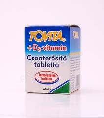 Tovita+D3 vitamin tabletta