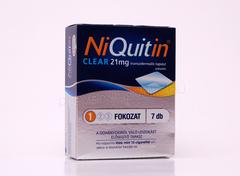 Niquitin tapasz clear 21mg