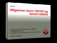 Milgamma neuro 100/100mg bevont tabletta