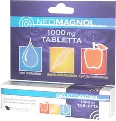 Neomagnol 1000 mg tabletta