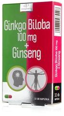Innopharm Ginkgo Biloba 100mg + Ginseng kapszula - Ingyenes szállítás