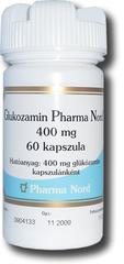 Glukozamin Pharma Nord 400mg kemény kapszula