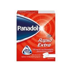 Panadol Rapid Extra 500 mg/65 mg filmtabletta