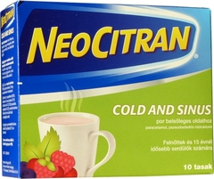Neo Citran Cold and Sinus por