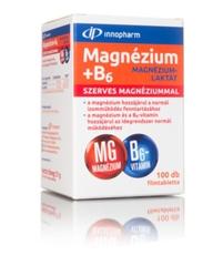 Innopharm Magnézium-laktát + B6 filmtabletta