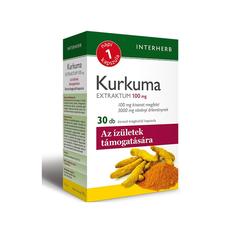 Interherb Kurkuma Extraktum kapszula