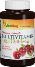 Vitaking Gyerek Multivitamin meggyes