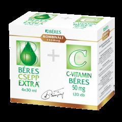 Béres Csepp Extra + C-vitamin 120x