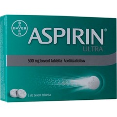 Aspirin Ultra 500mg tabletta