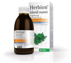 Herbion Izlandi Zuzmó 6mg/ml szirup