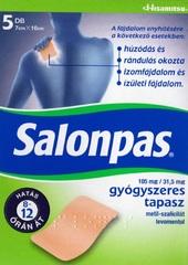 Salonpas 105MG/31,5MG gyógyszeres tapasz