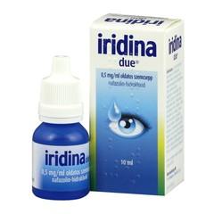 Iridina Due 0,5mg/ml Szemcsepp