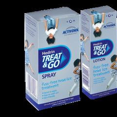Hedrin Treat & Go Tetűirtó Spray