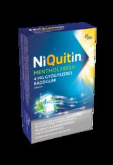 NiQuitin Menthol Fresh 4mg Rágógumi
