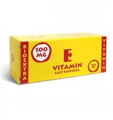 Vitamin E Bioextra 100mg lágy kapszula