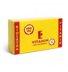 Vitamin E Bioextra 400mg lágy kapszla