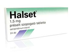 Halset 1,5mg szopogató tabletta